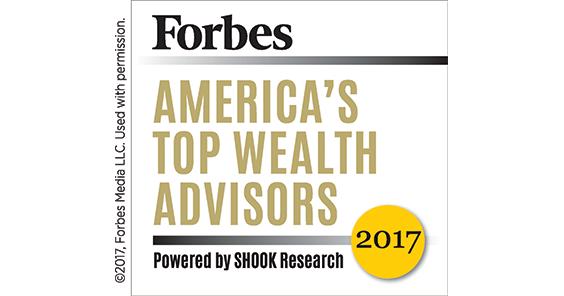 Forbes Top Wealth Advisor News Banner