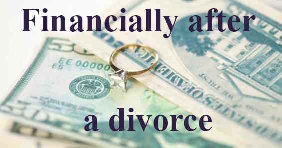 Finanically after divorce